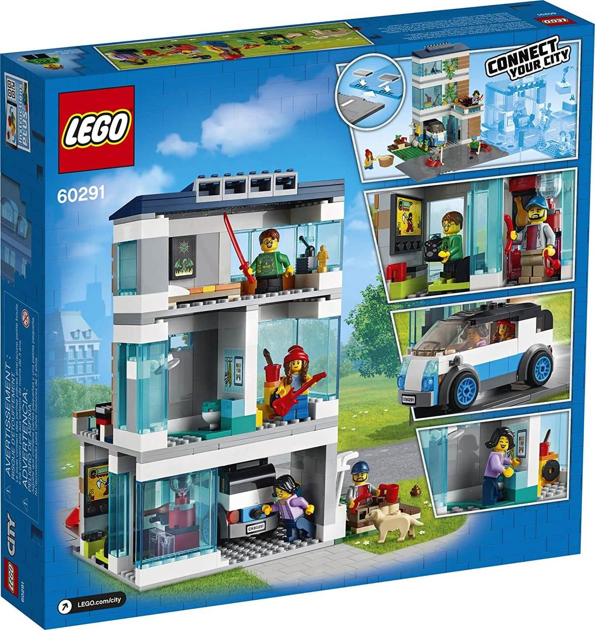 Lego City 60291 - Casa De Família Moderna 388 peças