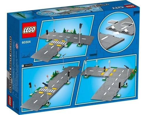 Lego City 60304 - Cruzamento De Avenidas 112 Peças