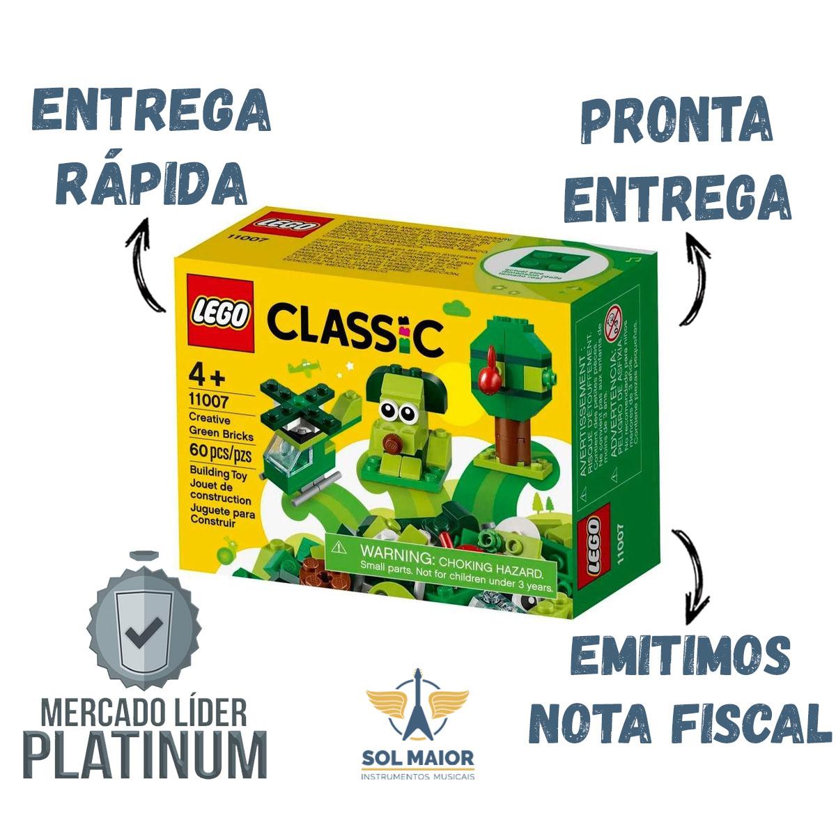Lego Classic 11007 - Peças Verdes Criativas