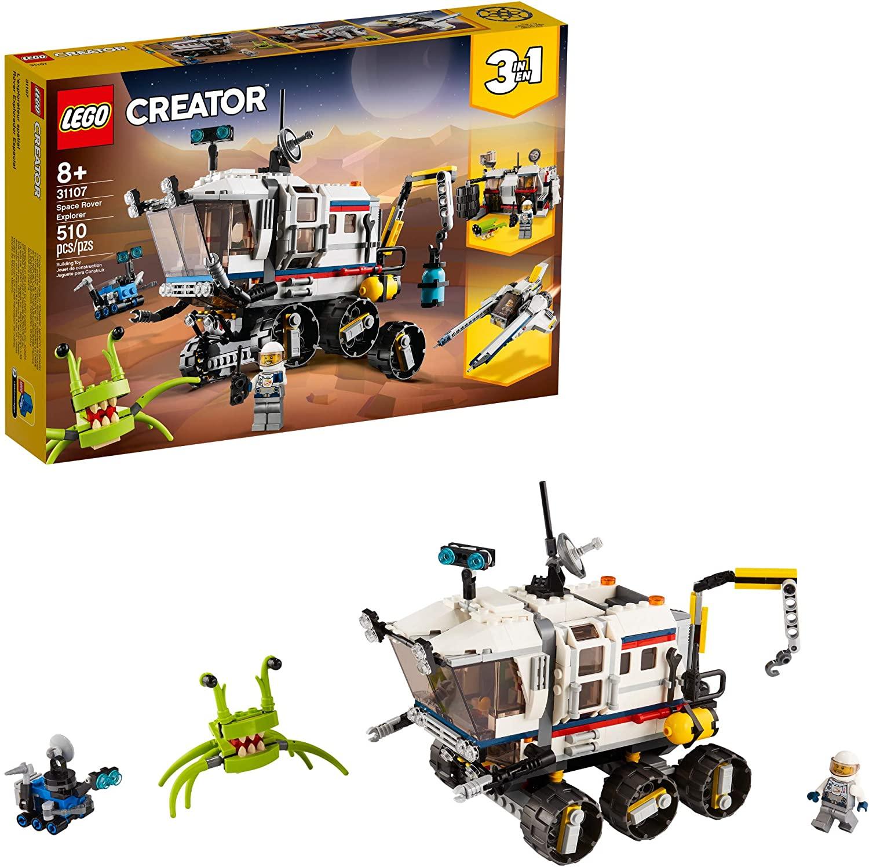 Lego Creator 31107 - Modelo 3 Em 1- Carro Lunar Explorador