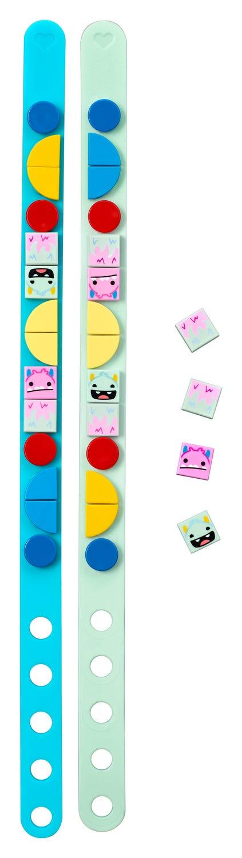 Lego Dots 41923 - Braceletes De Monstrinhos - 34 Peças