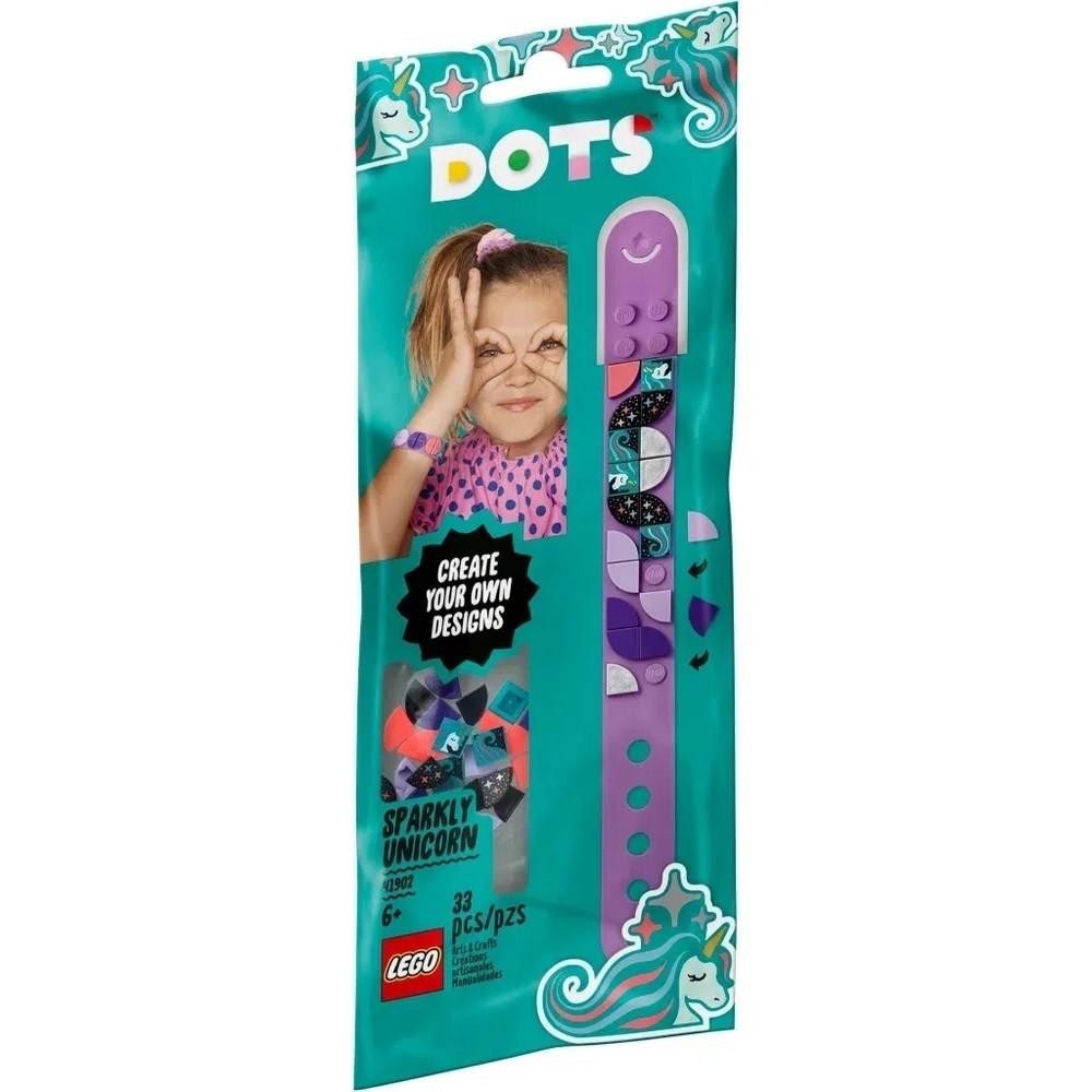 LEGO Dots - Bracelete - Unicórnio Cintilante - 41902