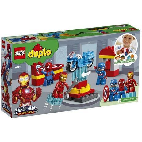Lego Duplo 10921 Laboratório Super-heróis Homem Aranha