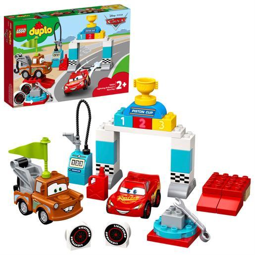 Lego Duplo 10924 Dia Da Corrida Do Relâmpago Mcqueen 42 Pçs