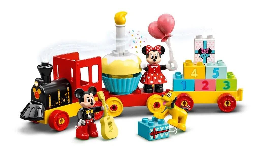 LEGO DUPLO 10941 - O Trem de Aniversário do Mickey e da Minnie