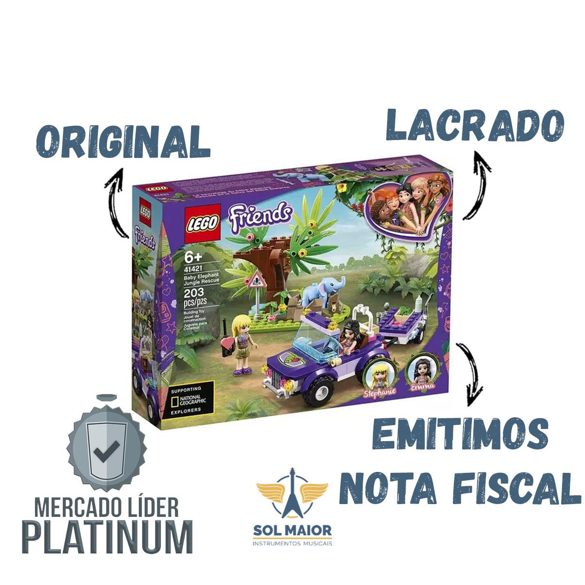 Lego Friends 41421 - Resgate na Selva do Filhote de Elefante