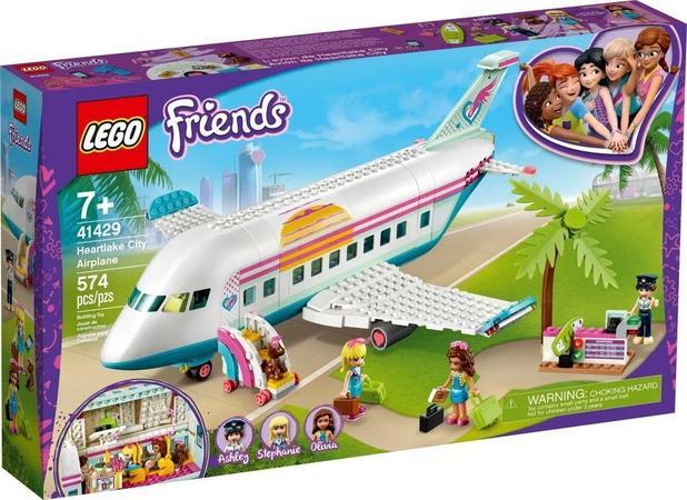 Lego Friends 41429 - Avião De Heartlake City 574 Peças