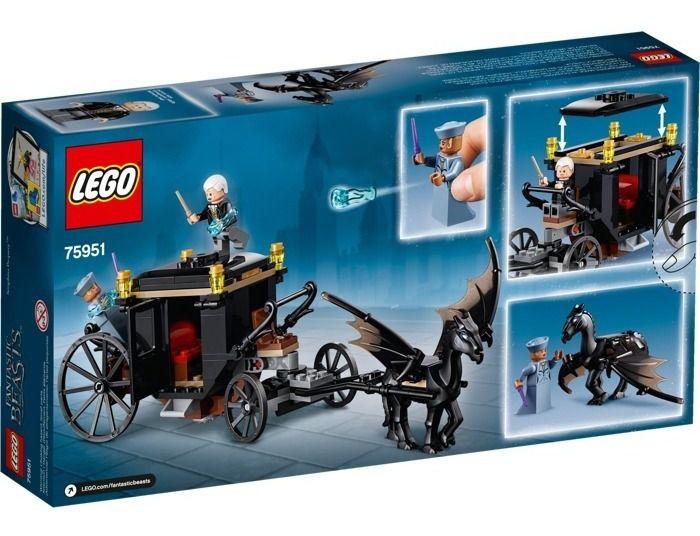 Lego Harry Potter 75951 - A Fuga De Grindelwald