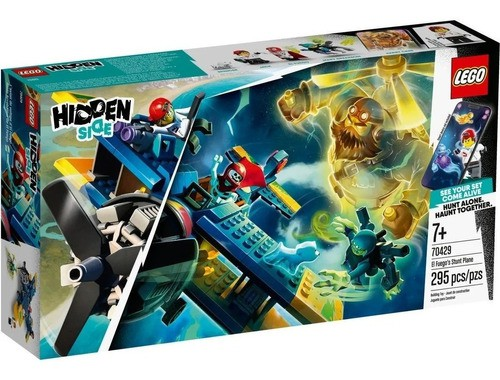 Lego Hidden Side Ar O Aviao De Acrobacias De El Fuego 70429