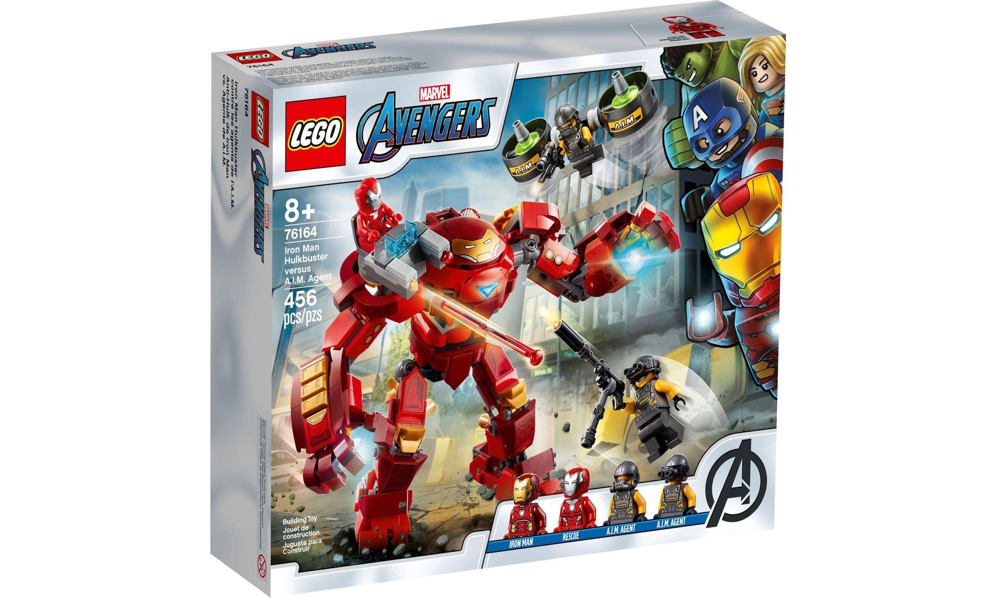LEGO Marvel 76164 - Homem de Ferro Hulkbuster Agente A.I.M