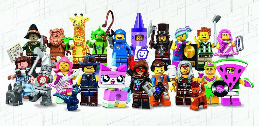 Lego Minifigures The Lego Movie 2: Coleção 71023 Completa