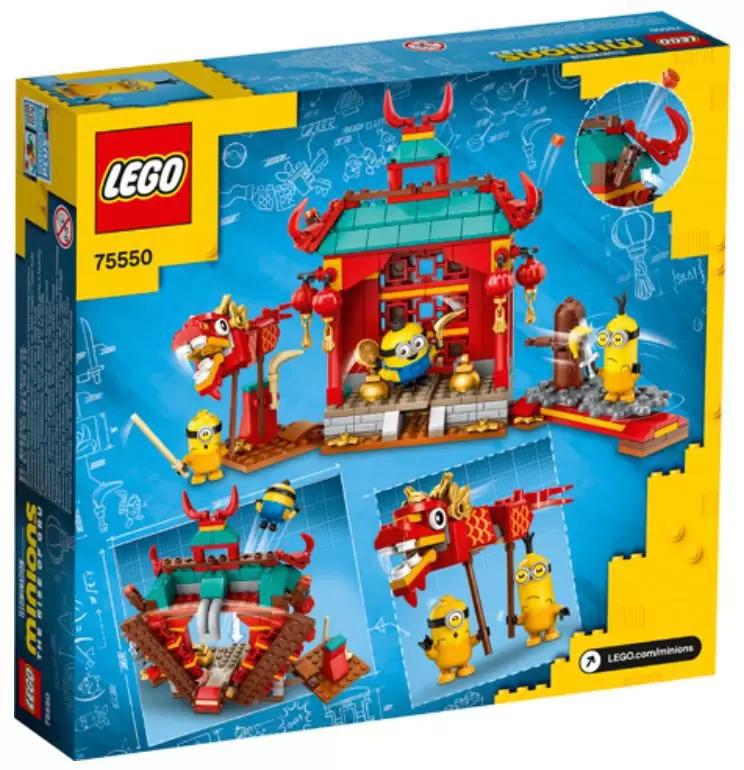 LEGO Minions Batalha Kung Fu 75550