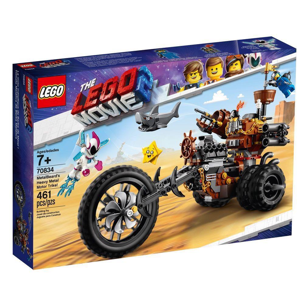 Lego Movie 2 - Triciclo Heavy Metal De Barba De Ferro 70834