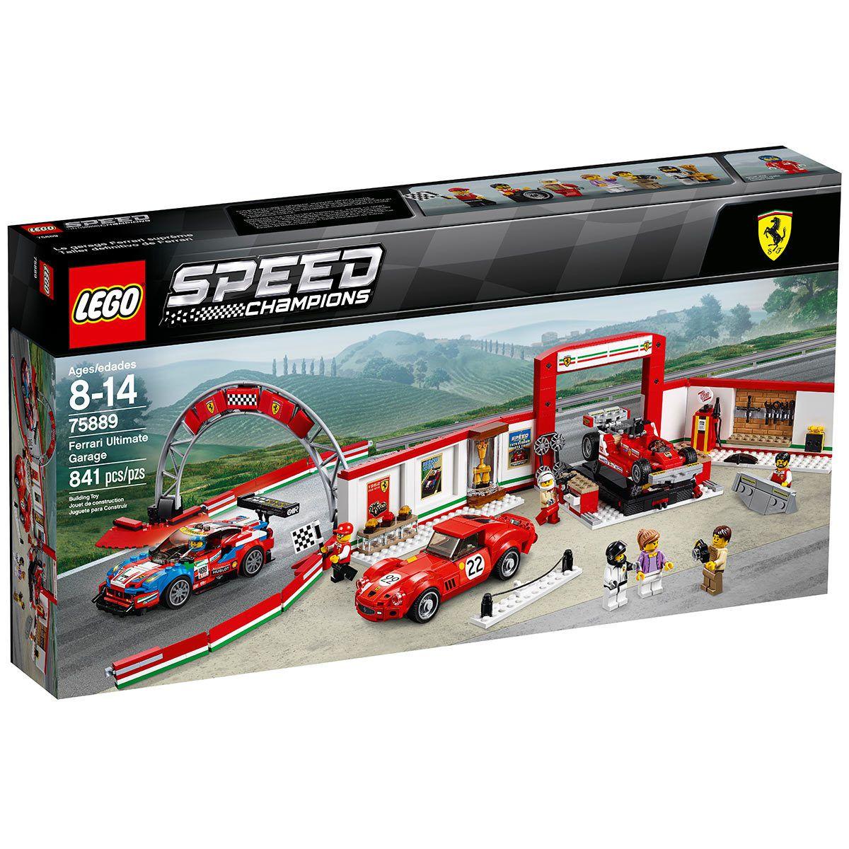 Lego Speed Champions 75889 Garagem Ferrari Ultimate