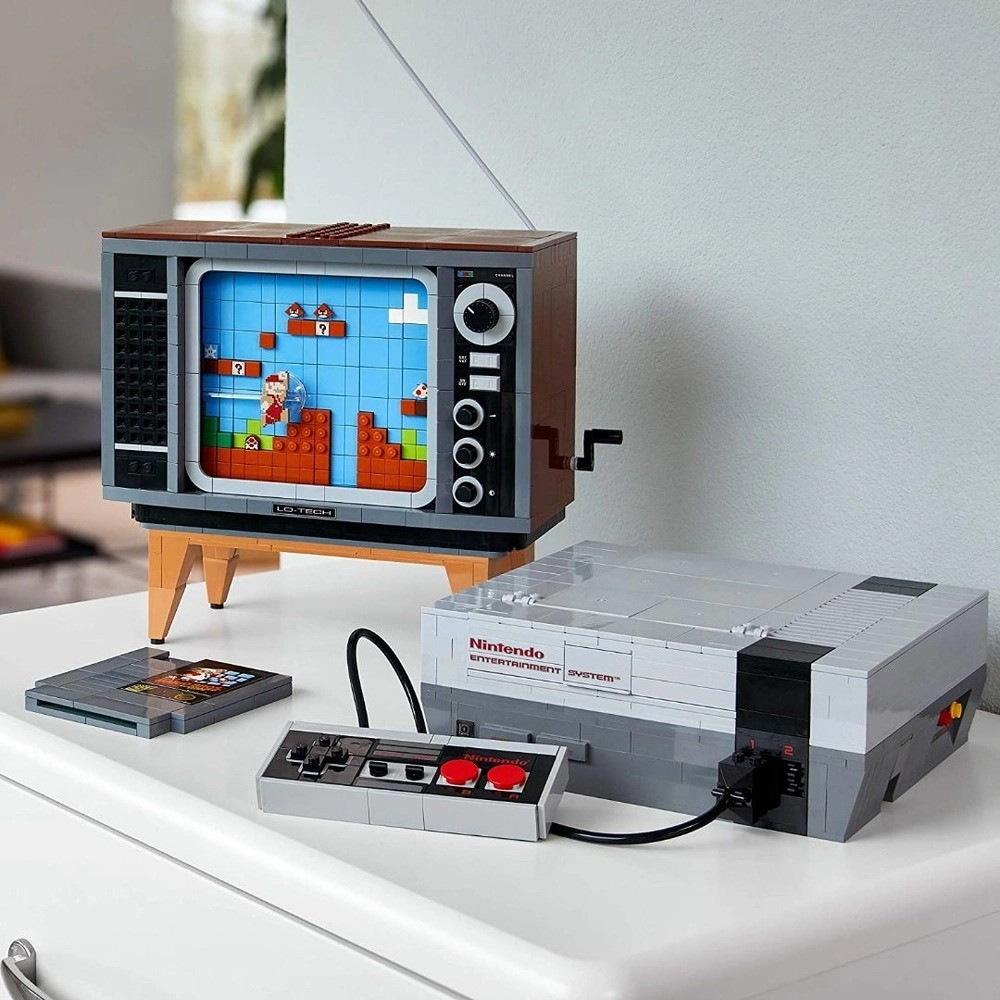 Lego Super Mario Nintendo Entertainment System Leaf 71374
