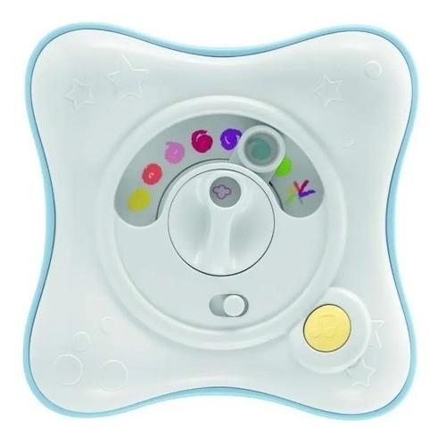 Luz Noturna E Projetor Infantil Rainbow Cube Azul - Chicco