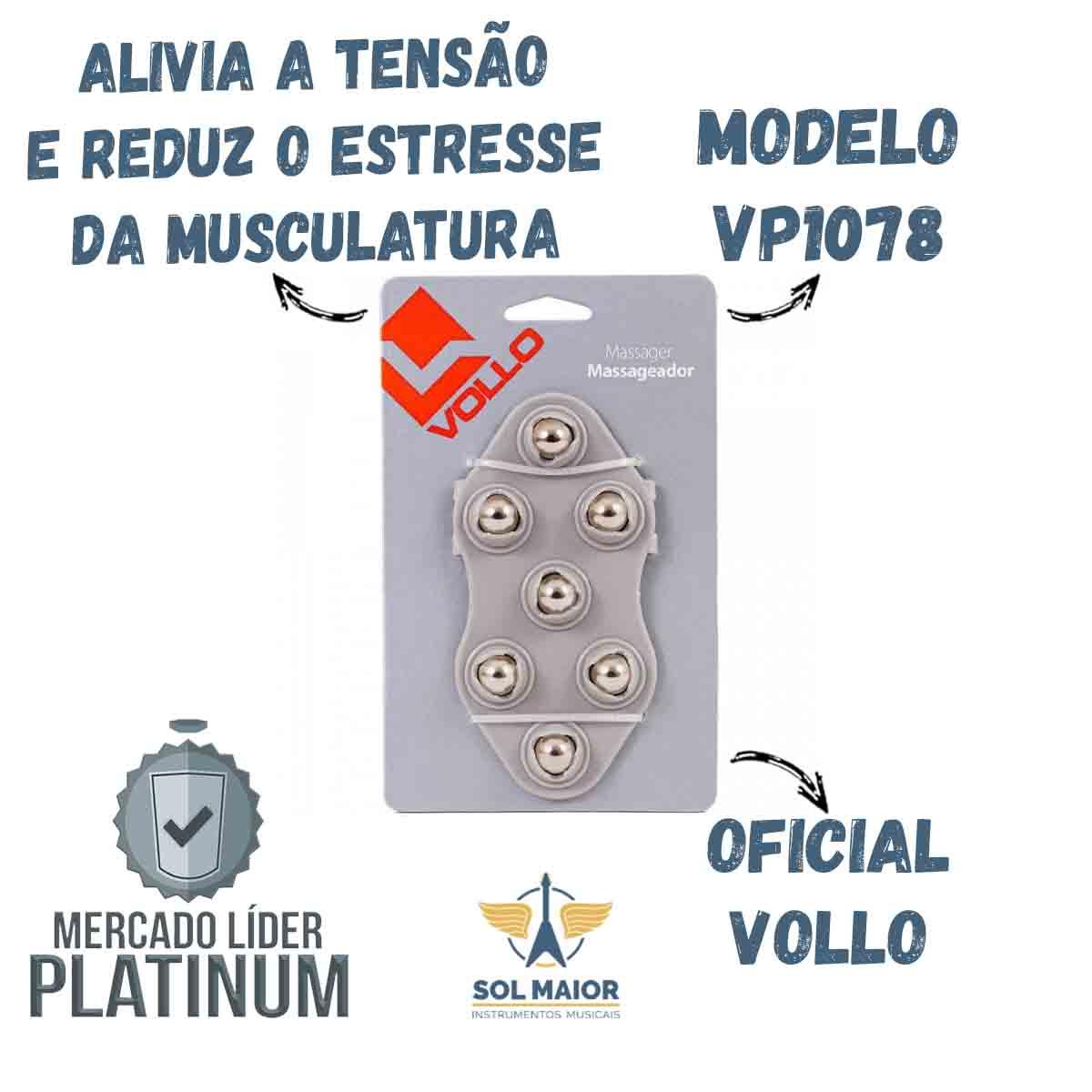 Massageador Corporal Esferas - Relaxa & Alivia Dores Tensão VP1078