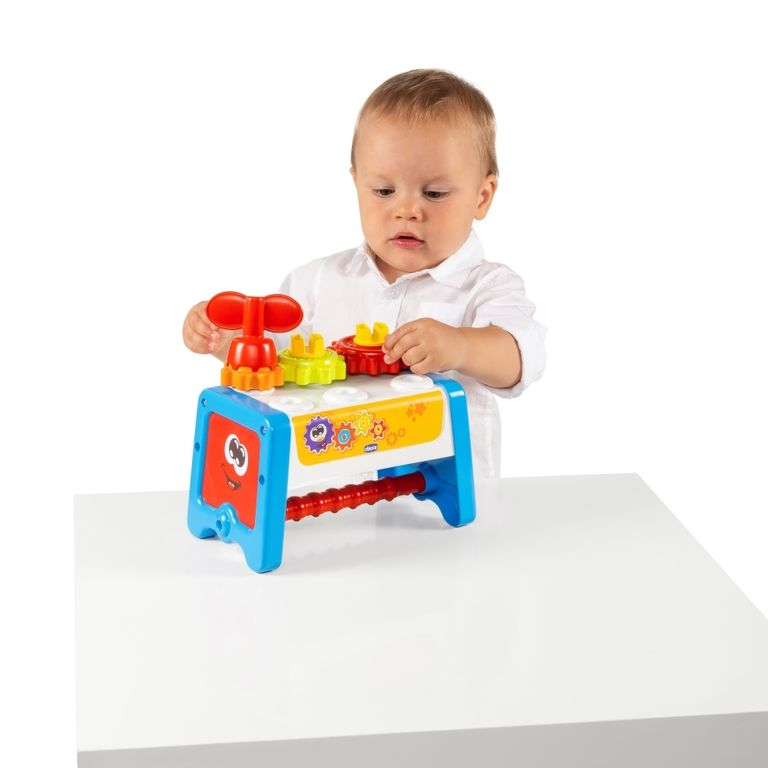 Mesa De Atividades - Caixa De Ferramentas 2 Em 1 - Chicco