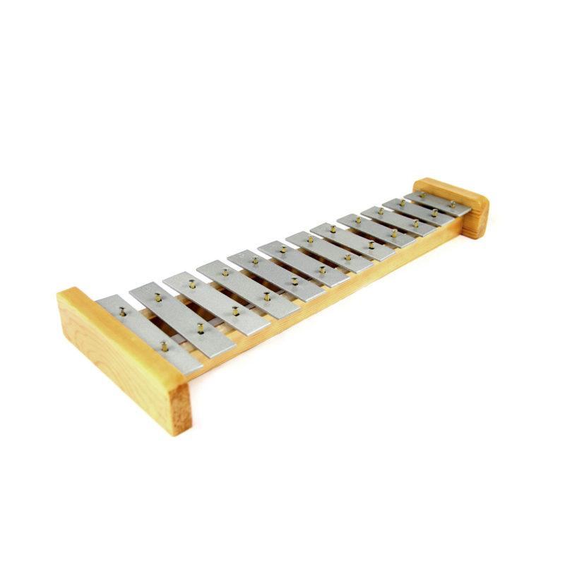 Metalofone Infantil C/12 Notas - DOLPHIN 8878