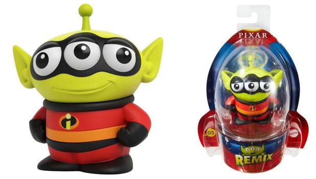Mini Figura Disney Pixar Remix Alien Toy Story Fantasiado
