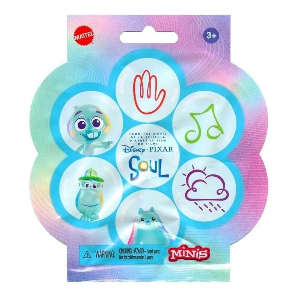 Mini Figura Sortida Surpresa Soul Disney Pixar - Mattel