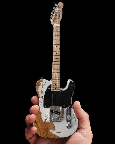 Miniatura Fender Jeff Beck Relic Esquire Mini Axe Heaven