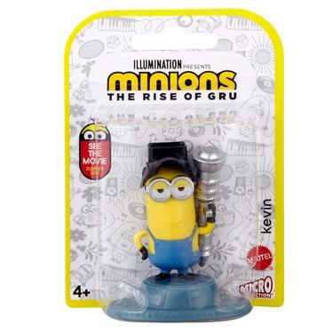 Minions Figura 5Cm Mattel - Kevin, Stuart, Bob, Otto e Gru