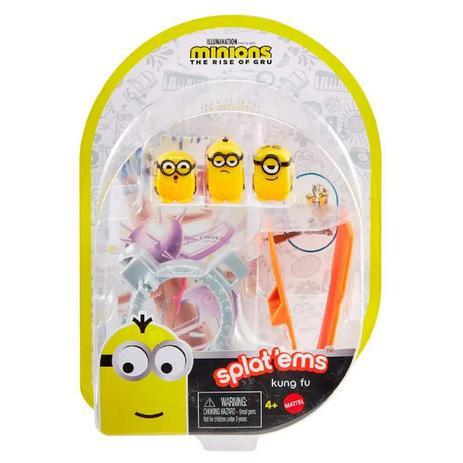 Minions Splat'Ems Multipack Kung Fu - Mattel GMD77