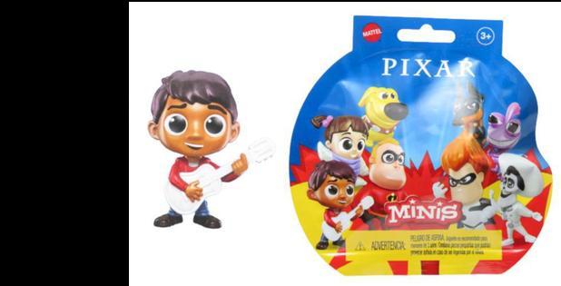 Minis Figura Pixar Mattel GMC43 - Dug, Sr. Incrivél e Miguel