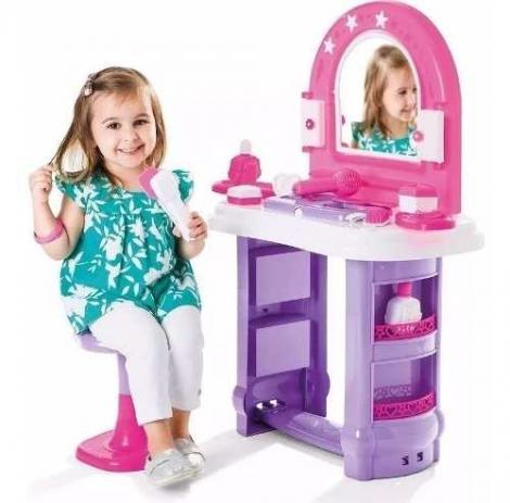 Miss Glamour Casinha Penteadeira Brinquedo Infantil Cales 320