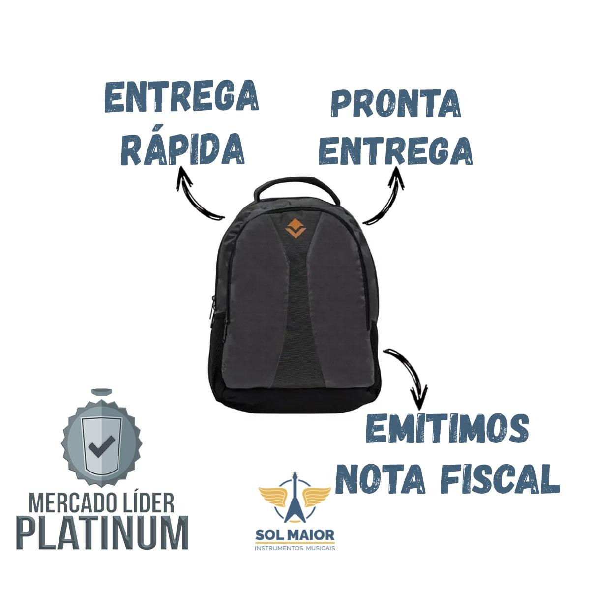 Mochila Esportiva Vollo Plus Preta VBG011