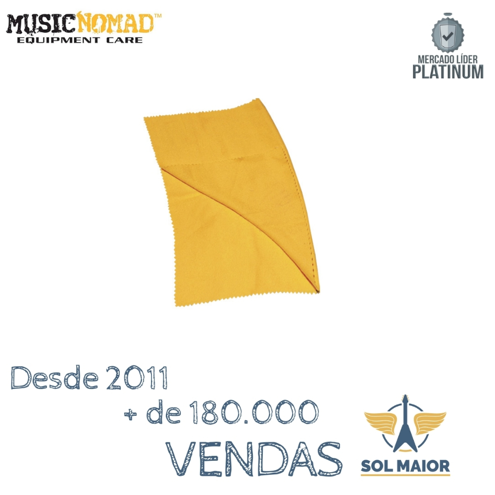 Music Nomad Mn200 Tecido P/ Polimento Instrumentos 11x15