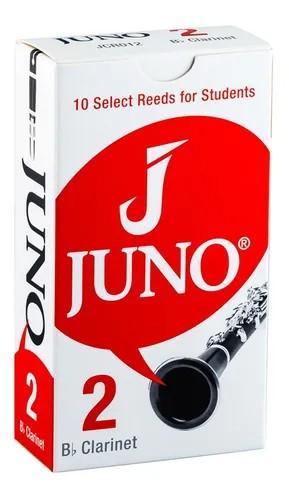 Palheta 2 para Clarinete Sib com 10 unidades JCR012 - Juno