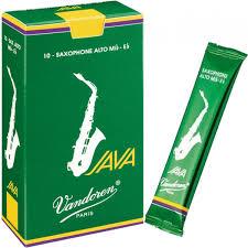 Palheta Java Para Sax Tenor 2 Caixa Com 5 Vandoren