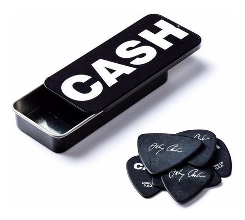 Palheta Media Johnny Cash Bold Signature Cx C/6 Dunlop