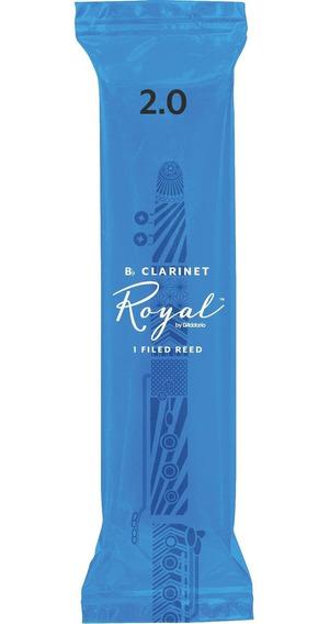 Palheta Rico Royal Clarinete 2.0 RCB0120