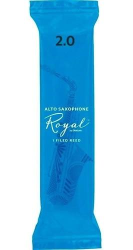 Palheta Rico Royal Sax Alto 2 Rjb0120 Daddario Unidade