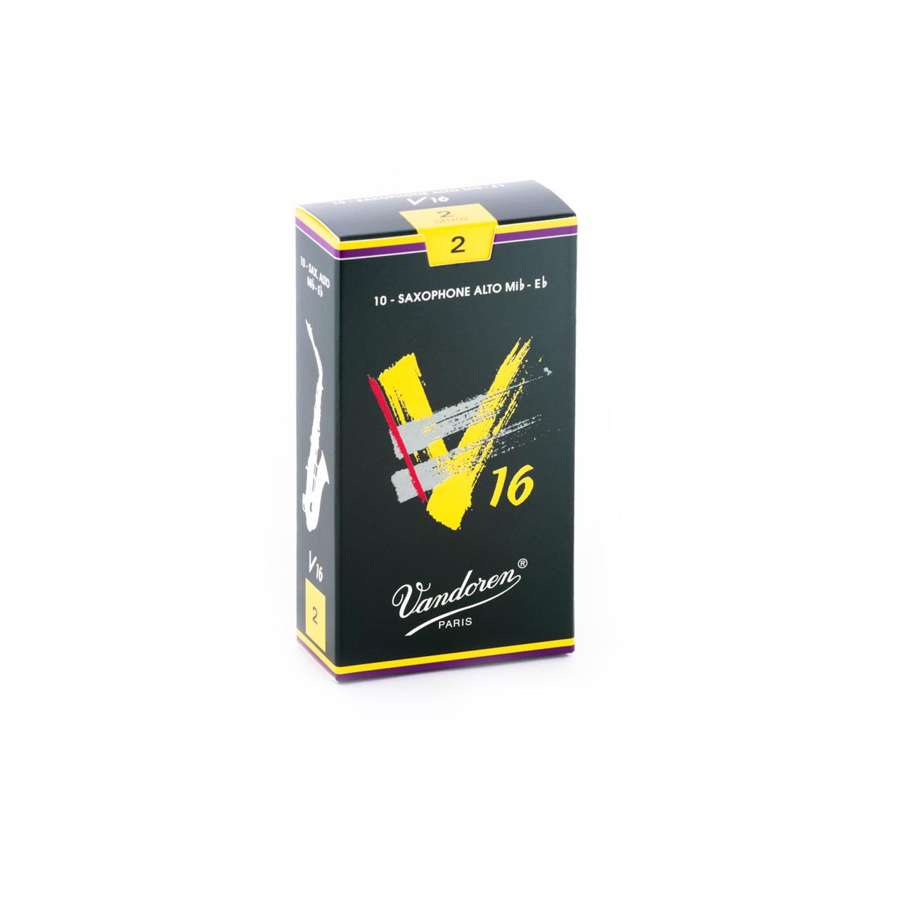 Palheta V16 2 para Sax Alto com 10 unidades SR702 - Vandoren