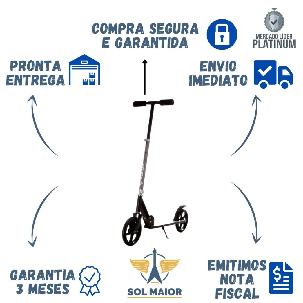 Patinete Dobrável Regulável Urbano - Vollo VSP100