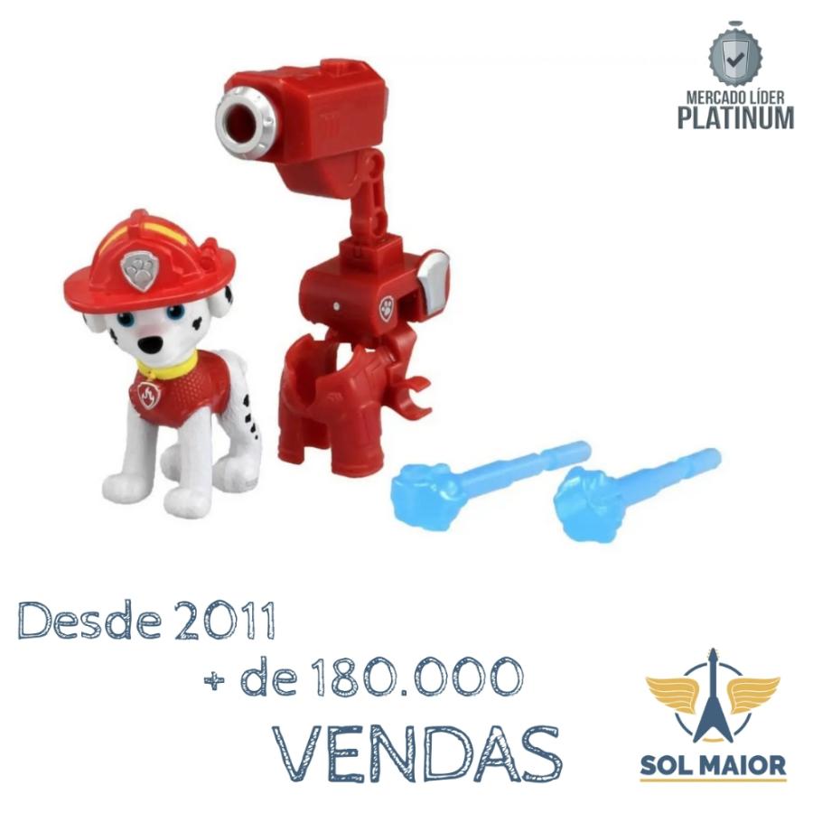 Patrulha Canina o Filme - Figuras Hero Marshall - 2707 Sunny