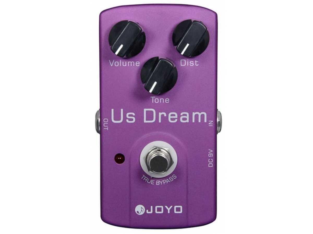 Pedal De Distorção Joyo Jf-34 Us Dream - Nf E Garantia