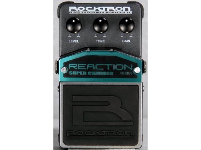 Pedal De Overdrive Rocktron Reaction Super Charger