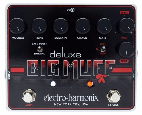 Pedal Ehx Deluxe Big Muff Pi Distortion Sustainer Gate Usa