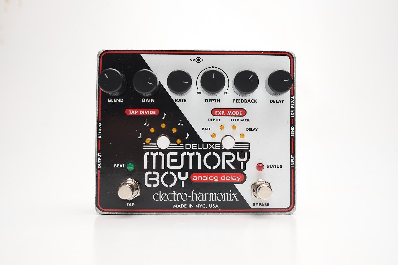Pedal Electro Harmonix Deluxe Memory Boy Delay Tap Tempo