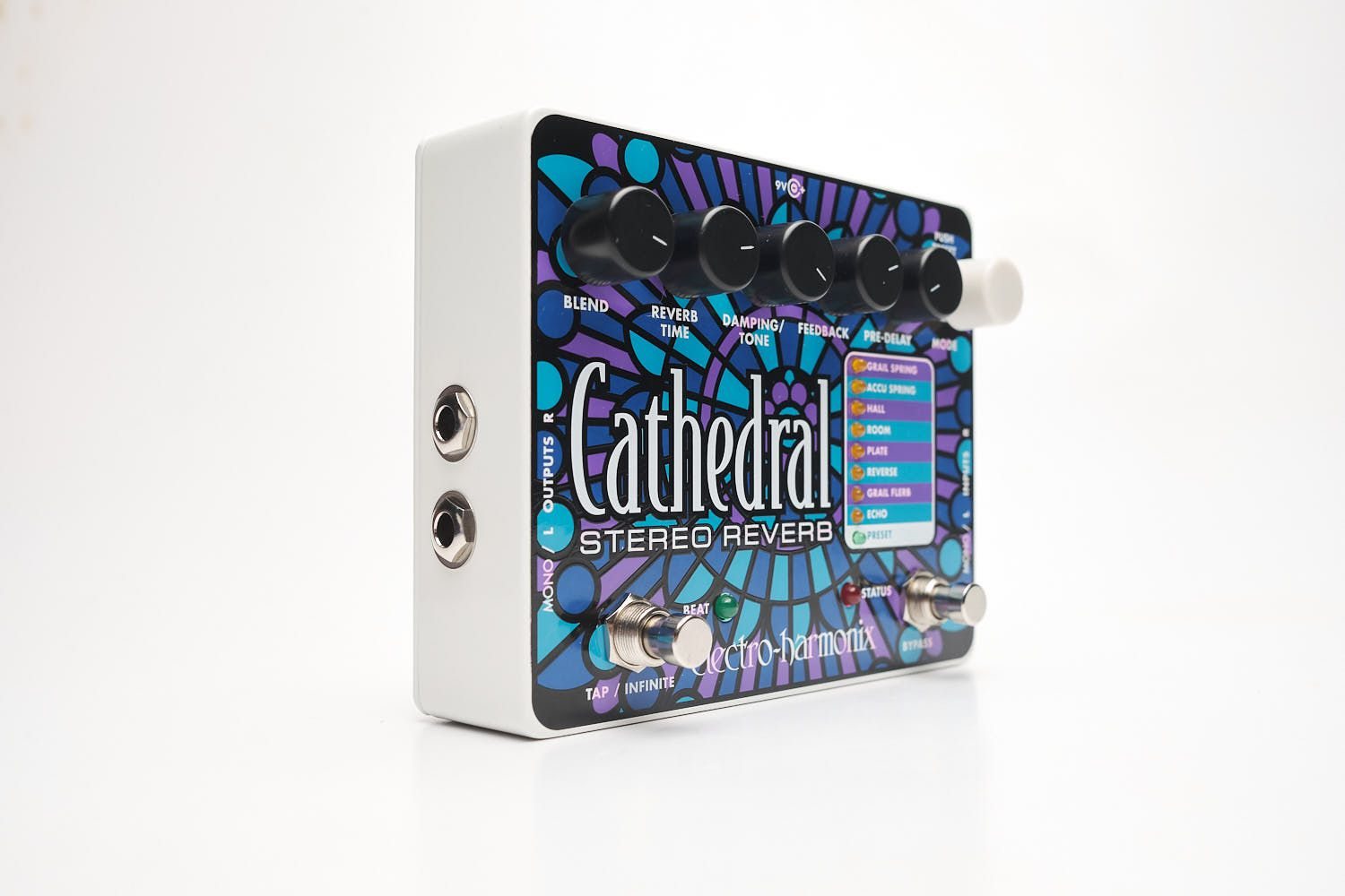 Pedal Electro Harmonix Ehx Cathedral Stereo Reverb + Fonte