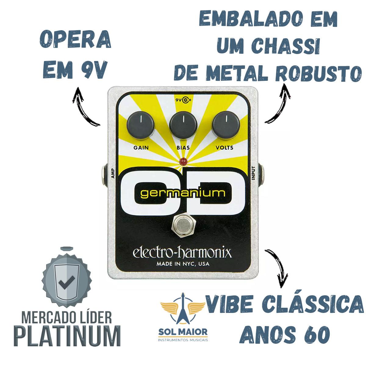 Pedal Electro Harmonix Germanium Od Overdrive