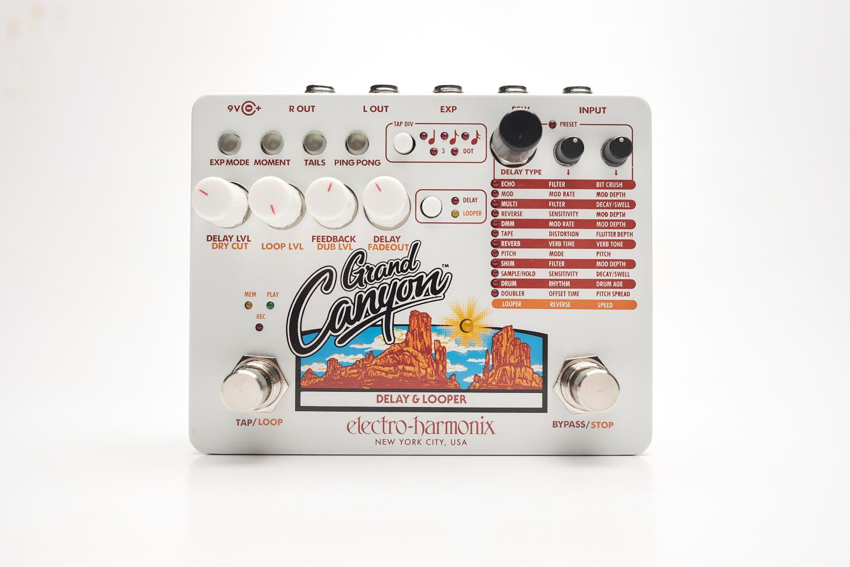 Pedal Electro Harmonix Grand Canyon Delay E Looper