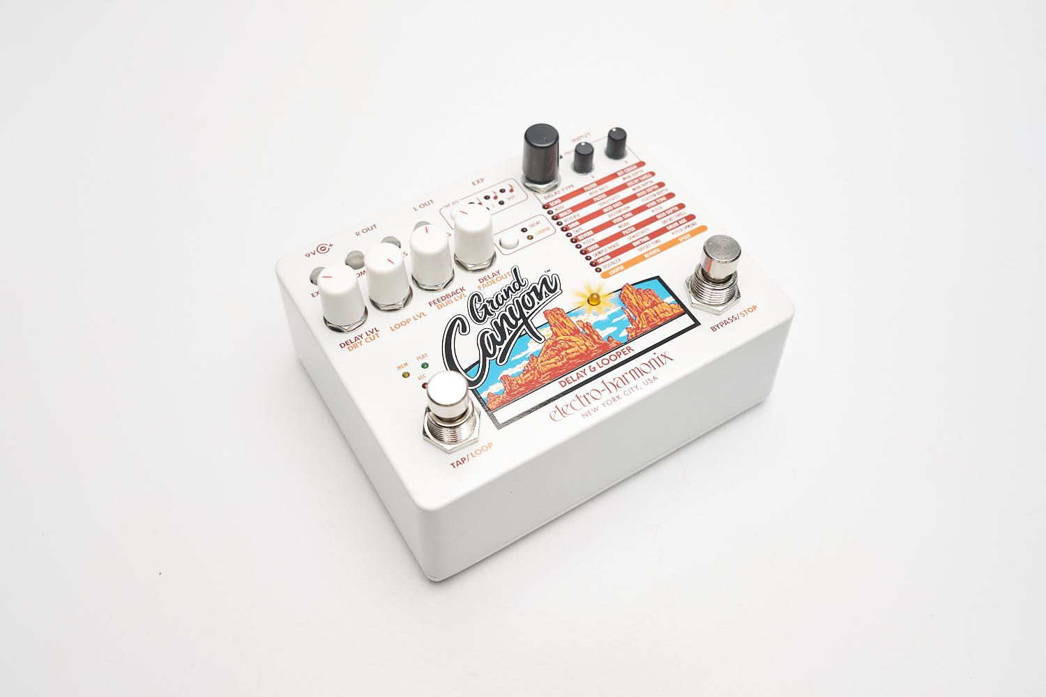 Electro-Harmonix Grand Canyon Delay Looper Pedal