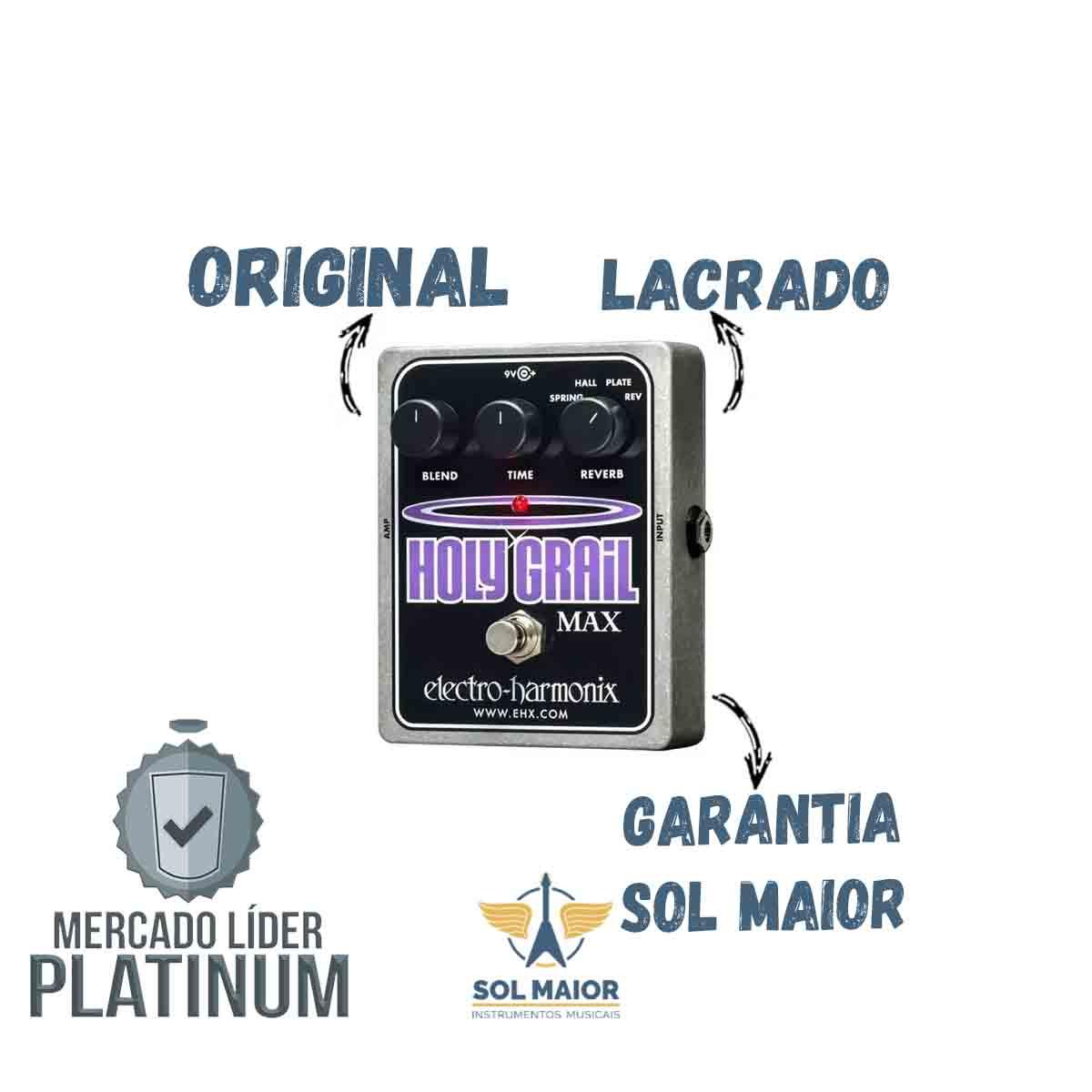Pedal Electro-harmonix Holy Grail Max Reverb - Holygrailmax