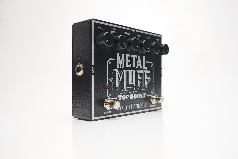 Pedal Electro-harmonix Metal Muff With Top Boost Metal Muff